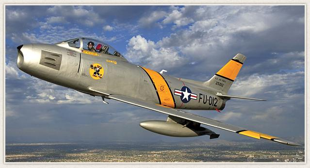 North American F86 Sabre Images Gallery