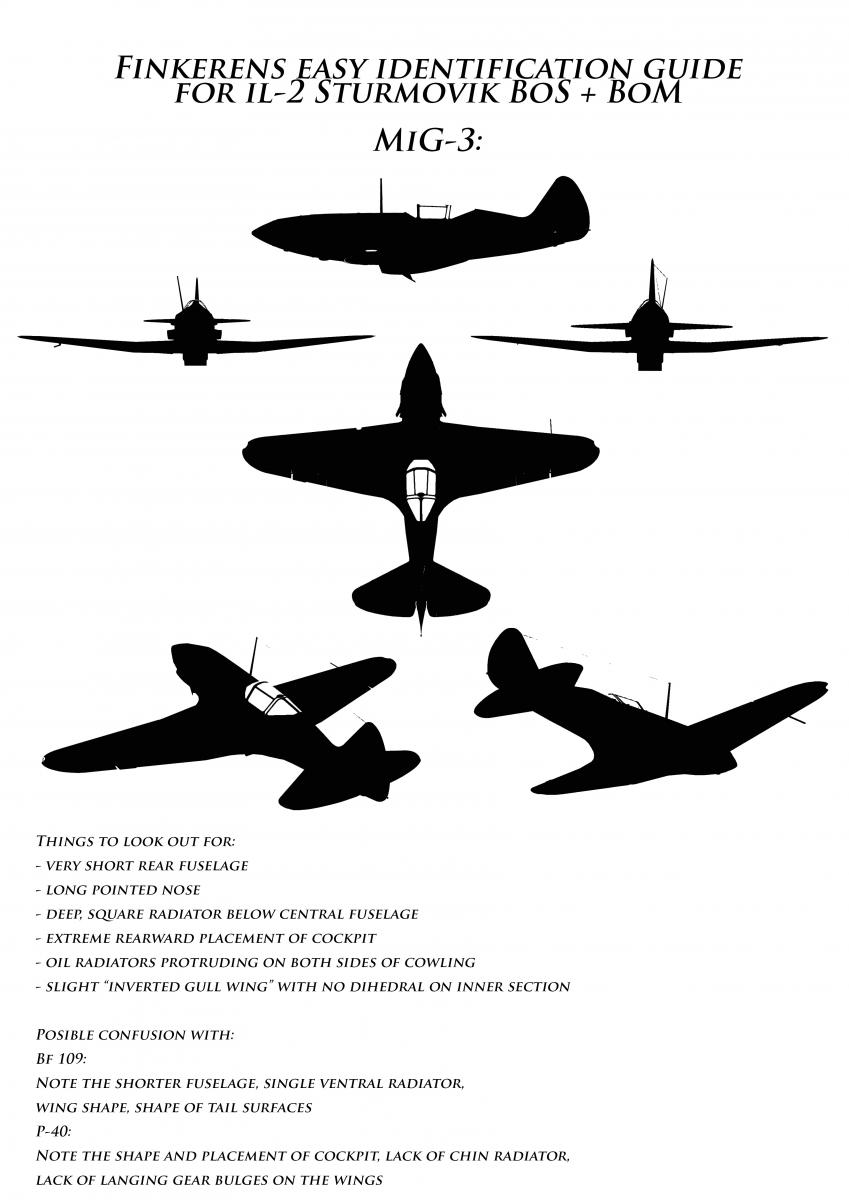 Enemy Plane Identification Pictures General Discussion Il 2 Sturmovik Forum