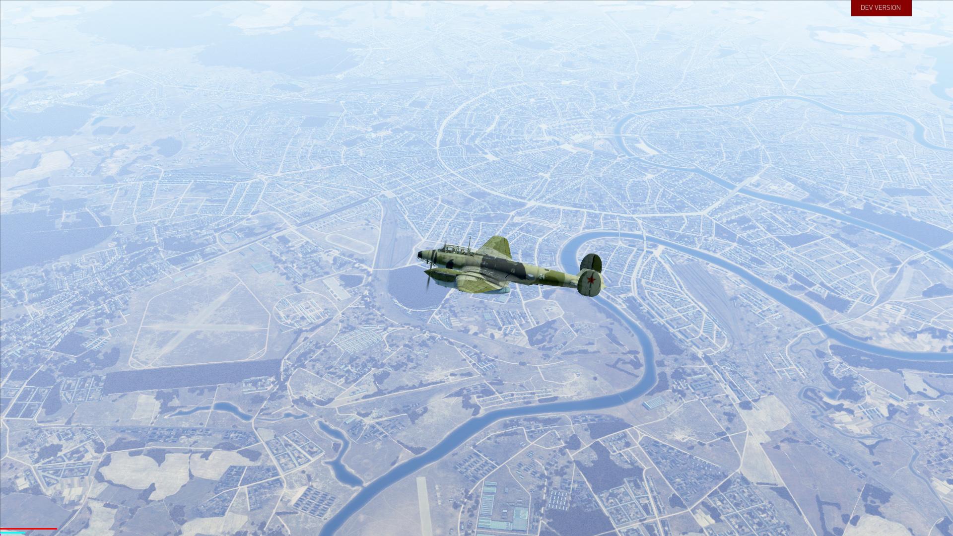Il  Sturmovik Battle Of Stalingrad Objects Buildings