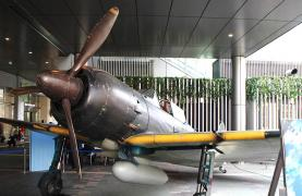 A6M5 full-scale mock-up Hakata Station.jpg