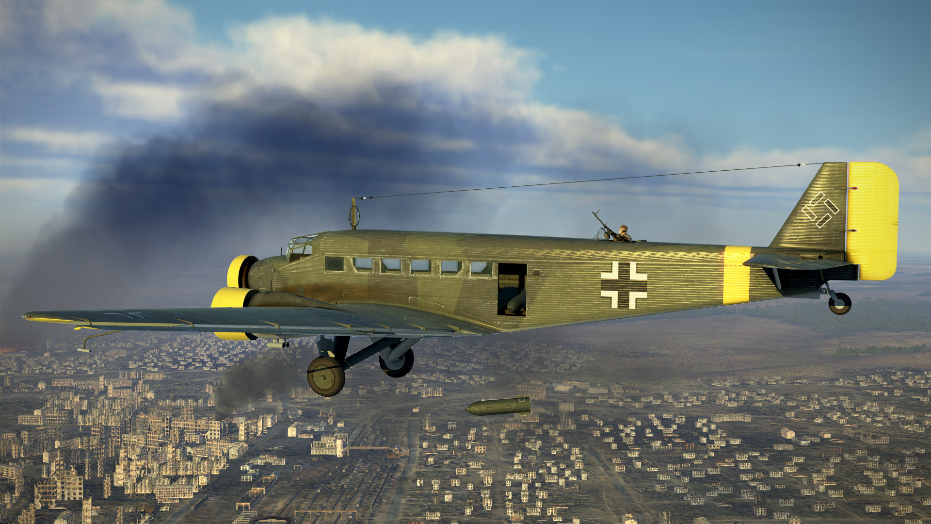 Start-up of all the aircraft included in Il-2 Sturmovik Battle Of Stalingrad Deluxe Edition; including internal and external views. Website: https://il2sturm...