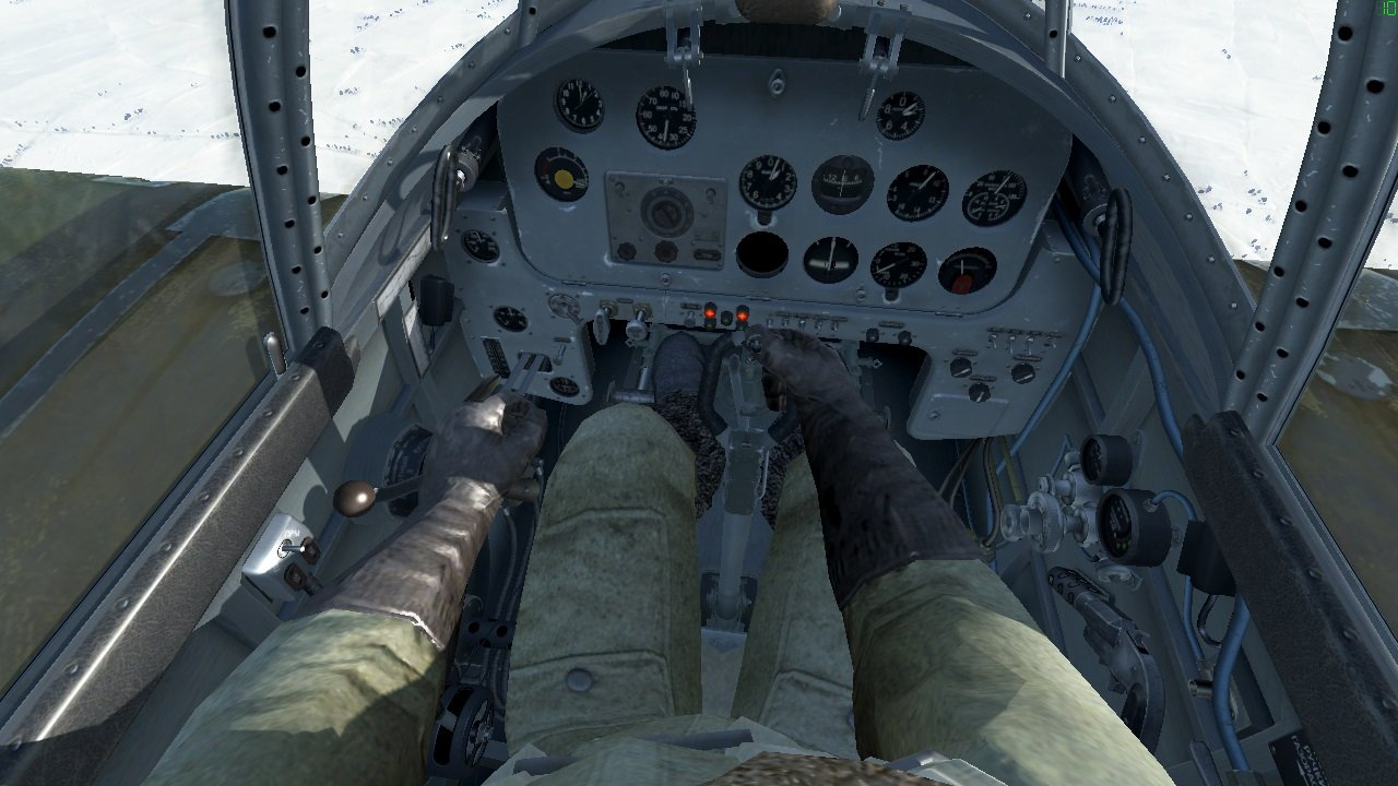 MOD] Pilot in cockpit (updated: 4k textures) - Mods - IL-2