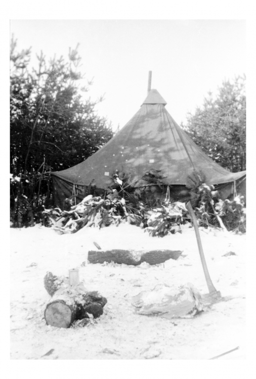 Officers Tent in woods.png