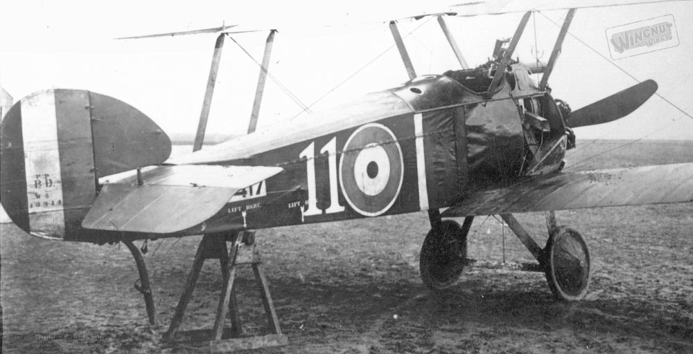 Sopwith F.1 Camel B5417 '11' of 54 Sqn captured (Greg Van Wyngarden) (1).jpg