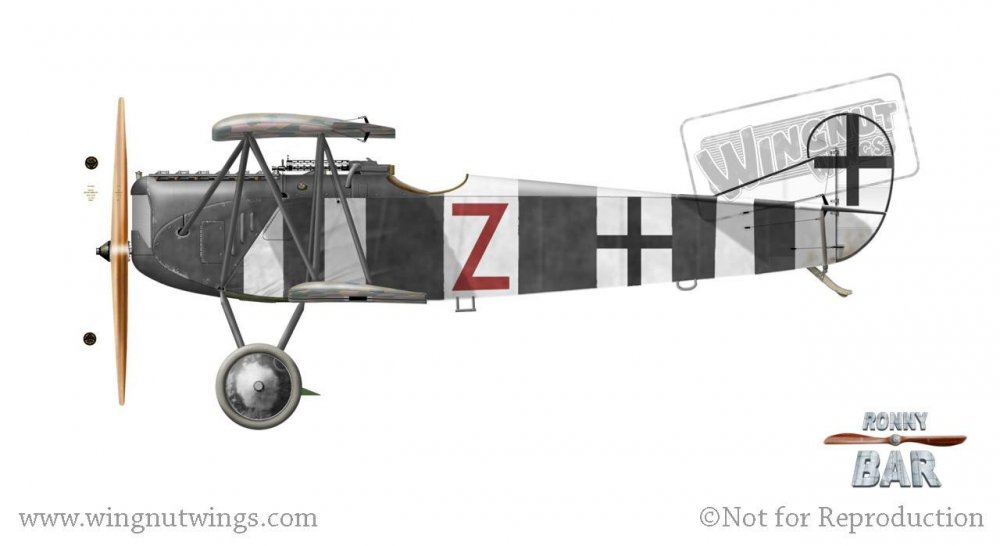Fokker D.VII F Red Z, Jasta 26(), November 1918.jpg