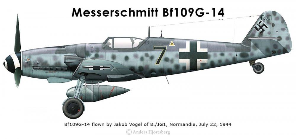 Messerschmitt-Bf-109G14R3-Erla-8.JG1-Black-7-Jakob-Vogel-WNr-413601-Normandie-France-July-1944-0A.jpg