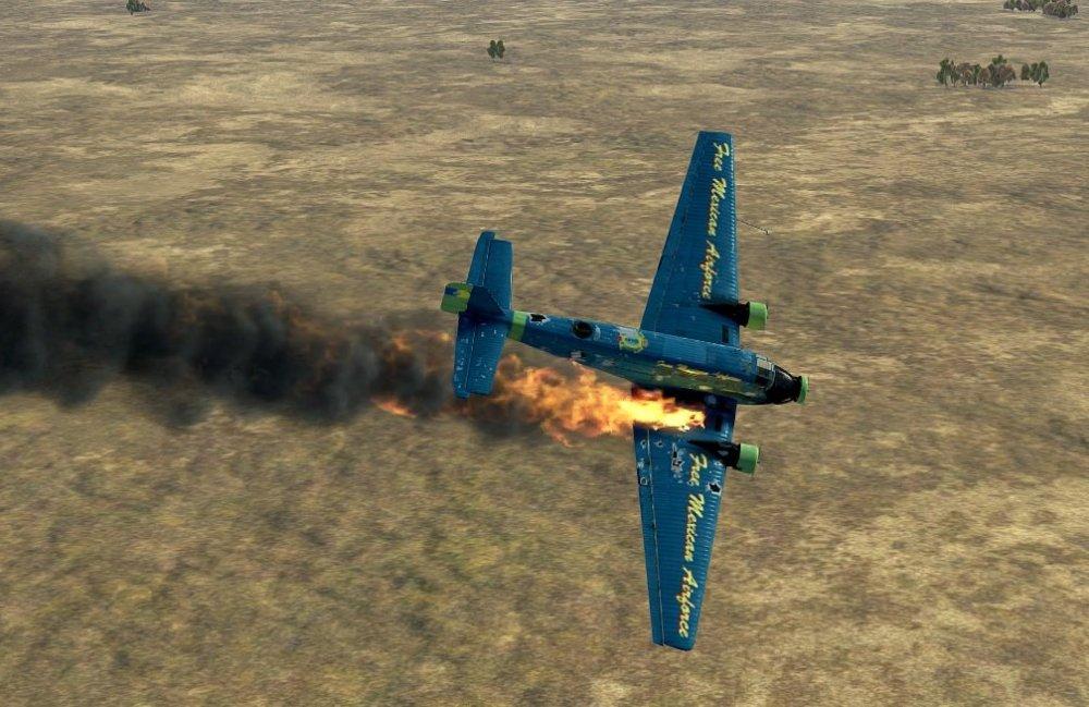 Ju52 Free Mexican Airforce crash.jpg