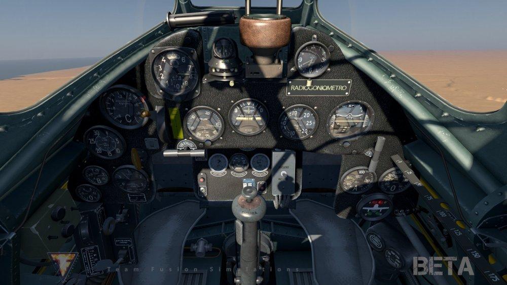 MC 202 Folgore cockpit.jpg