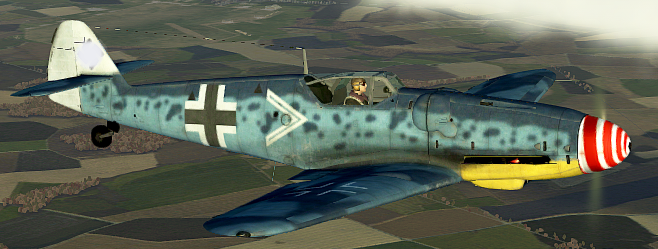 Bf109 G14 RED WHITE SPIRAL.png