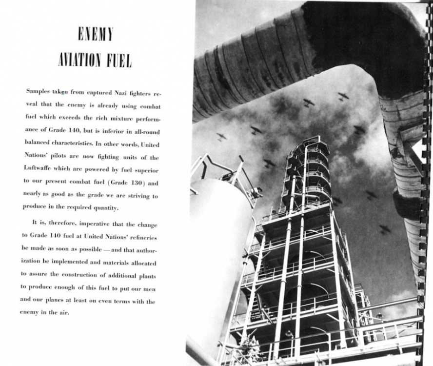 Special Aviation Gasoline Report on German fuels March 1943.png